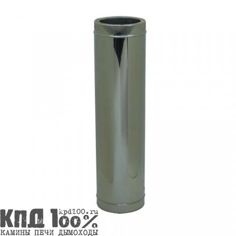 Дымоходы ТРАНКОЛ (AISI 304-0,5/AISI 304-0,5 ут. 30 мм.) - ТД 250 мм - 4 м. (комплект)
