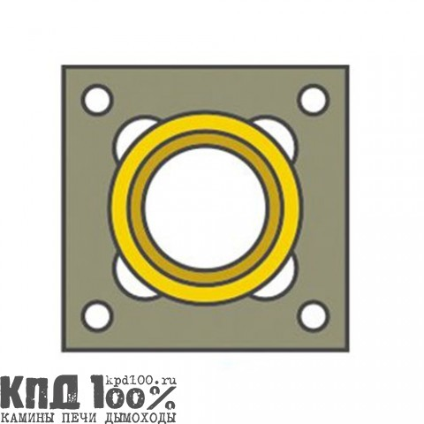 Дымоход ECOOSMOSE система NISOTT (шамот)