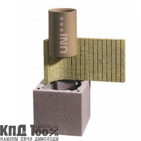 Дымоход SCHIEDEL система UNI двухходовой с вентиляцией 200L200 мм.  -  4 м.п. (комплект)