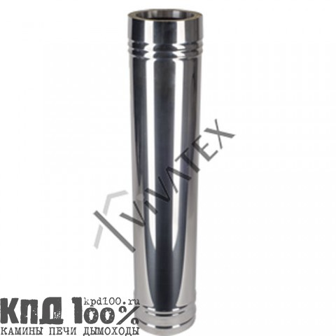 Дымоходы VIVATEX ТЕРМО (AISI 309-0,8/AISI 430-0,5 ут. 50 мм)