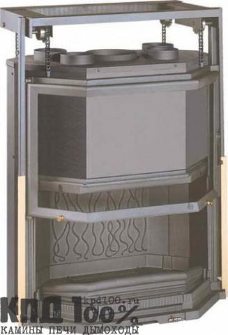 Топка каминная PRISMATIC 850 RELEVABLE (ПРИЗМАТИК 850 КОНТРГРУЗ)